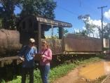 Comissão inspeciona trilhos da Madeira Mamoré até Santo Antônio