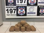 Traficantes de Rondônia são presos com 11 tabletes de cocaína no Mato Grosso