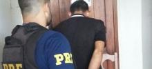 Em Porto Velho, PRF prende jovem criminoso que levaria moto roubada para Guajará