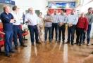 Laerte Gomes faz visita técnica em aeroporto de Ji-Paraná