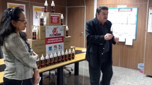 Rondônia recebe mais 8 mil frascos de repelente para prevenir o Zika Vírus em mulheres gestantes