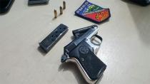PM prende suspeito com pistola na Zona Sul