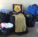 Mais de 500 unidades de vestuários sem nota fiscal foram apreendidas pela PRF