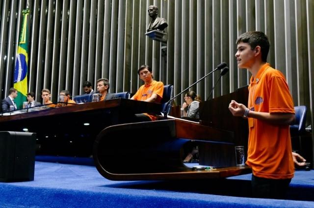 Estudante rondoniense que participou do Jovem Senador 2016 é admitido em Harvard