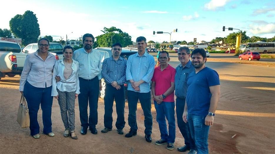 Raupp e Marinha mostram a realidade de rodovias de Rondônia ao diretor-geral do DNIT