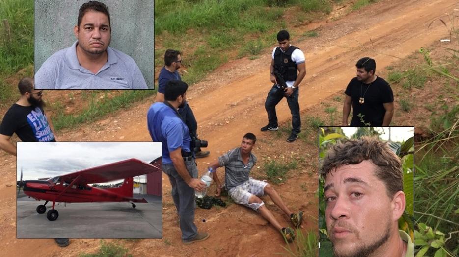 Criminosos do Mato Grosso são presos em Rondônia tentando roubar avião