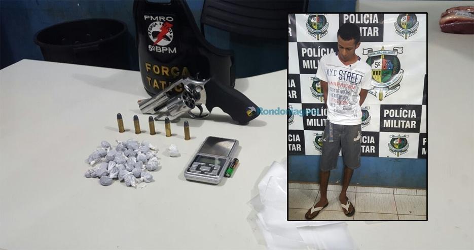 Foragido é preso com drogas e diz que traficantes estão se matando por domínio de regiões na capital