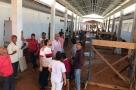 Laerte Gomes visita reforma de escola em Alvorada D'Oeste