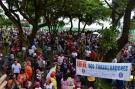 Sindsef e mais de 20 entidades levam multidão às ruas de Porto Velho contra reformas