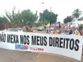 Greve geral leva milhares de trabalhadores às ruas em Rondônia