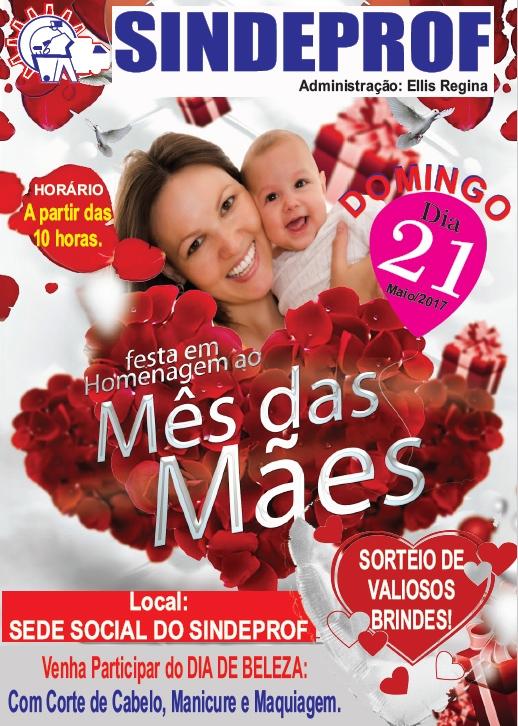 Sindeprof homenageia servidoras mães neste domingo