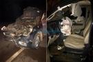 Deputado Laerte Gomes e assessores sofrem grave acidente na 429