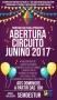 Temporada de festas juninas será aberta no domingo no Mercado Cultural