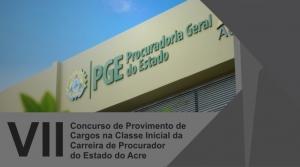 Concurso para procurador no Acre recebe inscrições até quinta; salário é de R$ 21.398