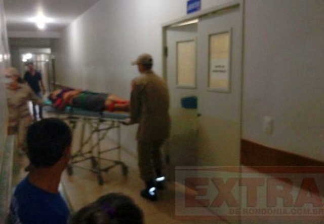 Homem e mulher grávida de dois meses sofrem tentativa de homicídio