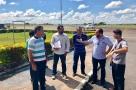 Deputado Laerte acompanha obras no Aeroporto de Ji-Paraná