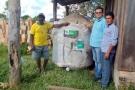 Ezequiel Junior entrega implementos e tanque de resfriamento de leite em Campo Novo