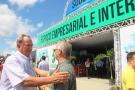 Empresário Assis Gurgacz se emociona ao visitar a sede própria da Rondônia Rural Show, e elogia o evento
