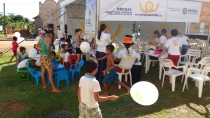Moradores do Orgulho do Madeira recebem orientações sobre prevenção às drogas