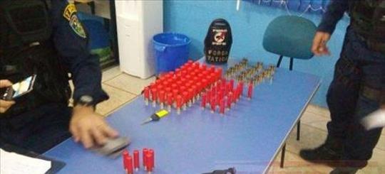 Integrantes da LCP são detidos com grande quantidade de munições