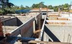 Construção da UBS em Ji-Paraná segue em ritmo avançado