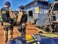 PRF e PM ambiental fazem apreensão e aplicam multas no Rei do Peixe, na BR-364; fotos