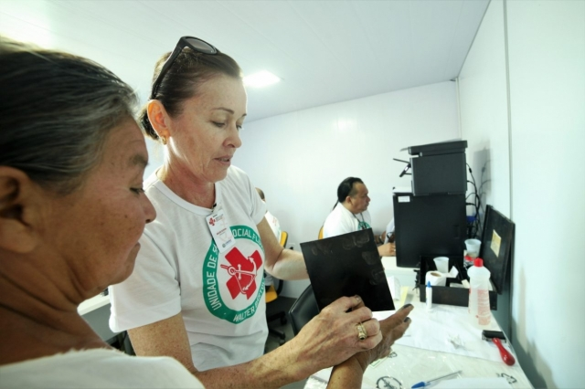 Barco hospital realiza segundo atendimento do ano aos ribeirinhos a partir do dia 21 de junho