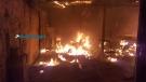 Incêndio em depósito de loja mobiliza Bombeiros na Capital