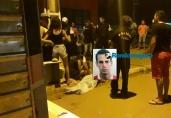 Jovem morre ao colidir com moto violentamente contra poste