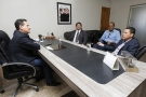 Presidente da Assembleia discute levar estrutura do Governo para Guajará-Mirim