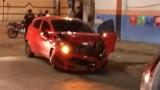 Mulher fica lesionada após colisão de veículos na Zona Sul