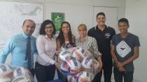 Equipes esportivas de Porto Velho recebem material para treinamento do JIR
