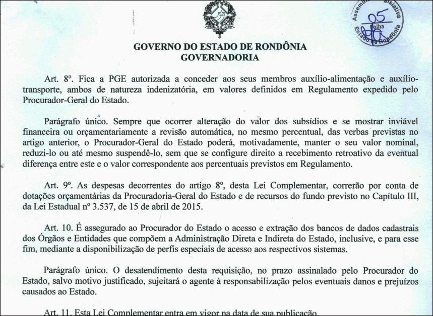 PGE vai passar a defender classe política e dirigentes em ações judiciais e procuradores receberão novas gratificações