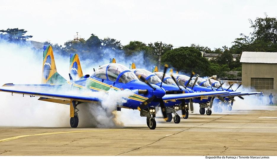 Esquadrilha da Fumaça se apresenta sábado em Porto Velho; Fotos