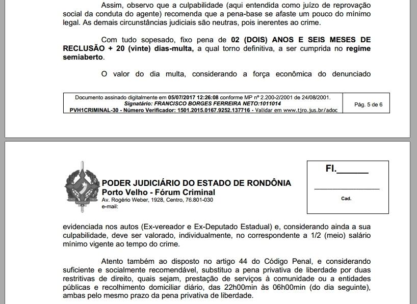 """Justiça condena """"Zequinha Araújo"""" a dois anos de prisão por usar assessor pago pela Câmara em sua fundação"""