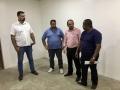 Laerte Gomes visita HM de Costa Marques e garante climatização
