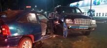 Colisão entre automóveis deixa quatro pessoas feridas em Porto Velho