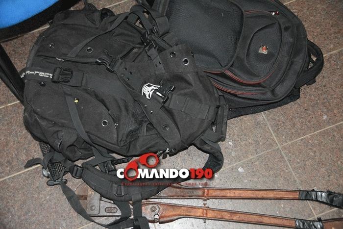 Quadrilha invade quartel da PM para furtar armas e munições, mas acaba presa