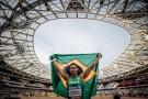 Mateus Evangelista se vinga de sul-africano e é ouro no Mundial de Atletismo