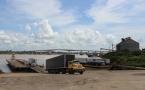 Rampas flutuantes devem garantir mais segurança na movimentação de cargas no período da estiagem no Porto de Porto Velho