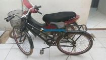 Dupla é presa com motocicleta roubada no Bairro Lagoa, Zona Leste da Capital