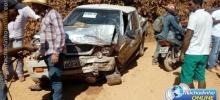 Pai, mãe e criança de 6 meses morrem em acidente de trânsito na Zona Rural