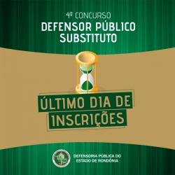 Prazo para se inscrever no concurso de defensor público em Rondônia termina nesta terça