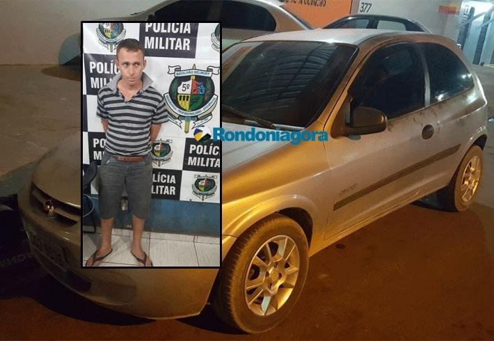PM prende um dos bandidos que matou comerciante com tiro na cabeça na Zona Leste