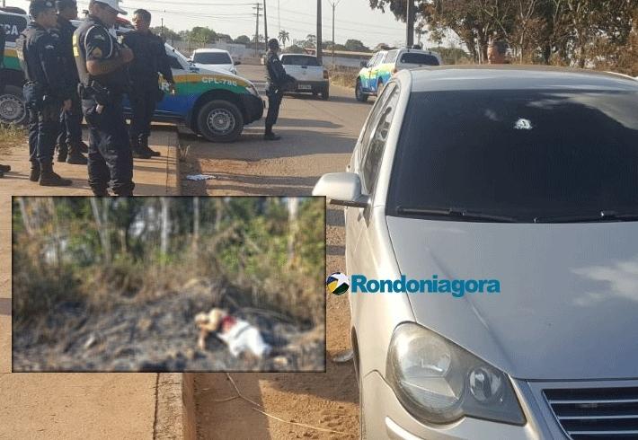 Criminoso é morto pela PM após roubo em balneário na Capital
