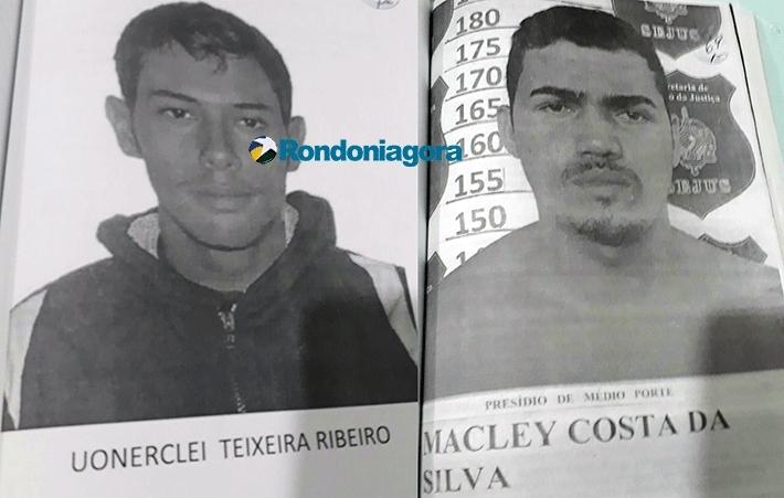 Criminosos que invadiram casa de policial são identificados; dupla atingiu homem e foi recebida à bala em Porto Velho