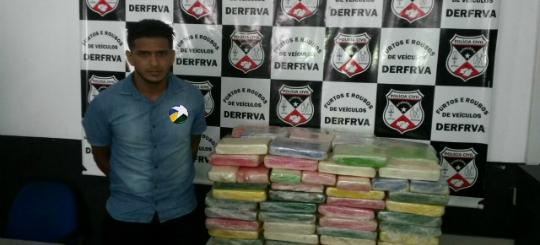 Polícia Civil apreende 142 quilos de cocaína pura em linha às margens da BR-364