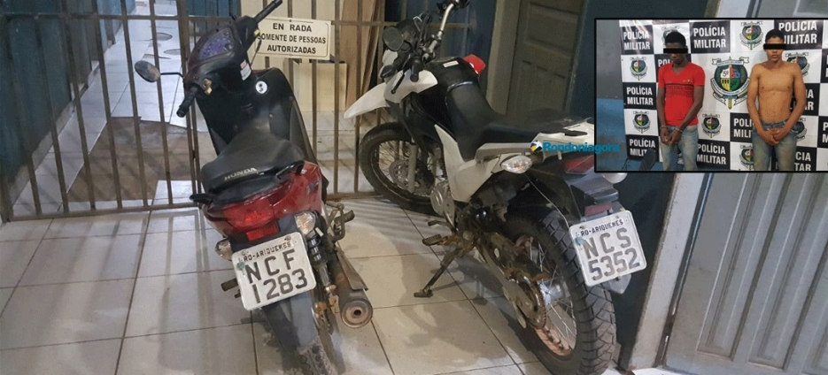 PM prende dois e recupera quatro motos roubadas que seriam trocadas por droga na Bolívia
