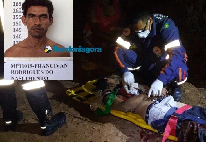Foragido da Justiça de Rondônia e Acre é baleado pela PM após roubo e intensa perseguição