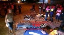 Mototaxista morre em grave colisão com carro; motorista fugiu sem prestar socorro